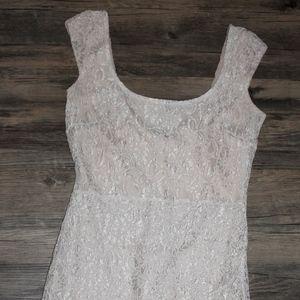 Fabrik Nude Lace Dress (Mystic-S)